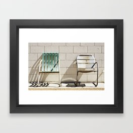 Cast; ACE Hotel Palm Springs Framed Art Print