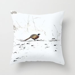 Ring-necked Pheasant 2 Throw Pillow