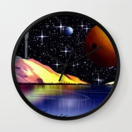 Exoplanet Nr.936. Wall Clock