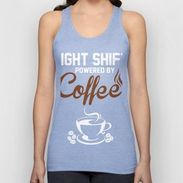 Perfect Costume For Coffee Lover. Shirt For Dad Unisex Tank Top