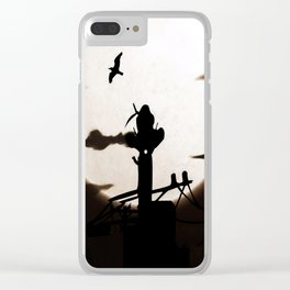 tower incident Clear iPhone Case