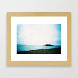 West Pier Framed Art Print