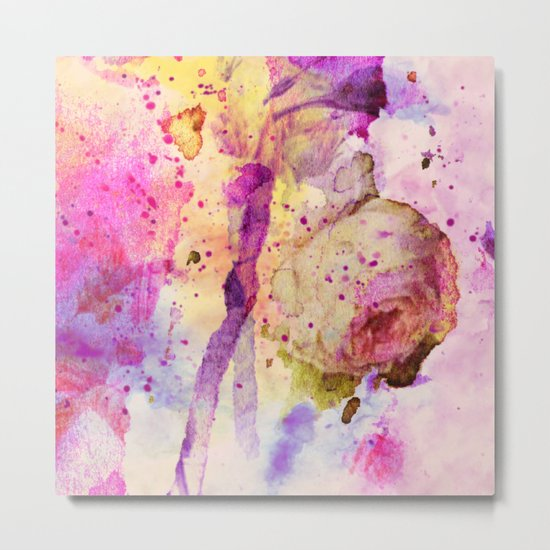 lost rose Metal Print