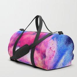 Powder Dust Explosion Nebula of Colors Duffle Bag