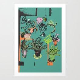 February extend day  Art Print