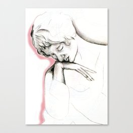 woe Canvas Print