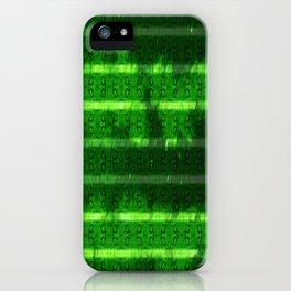 Metal Watermelon Rind iPhone Case