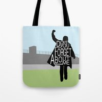 breakfast club Tote Bags featuring The Breakfast Club by Hugh & West
