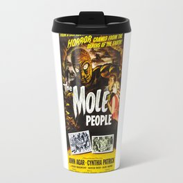 The Mole People, vintage horror movie poster Travel Mug