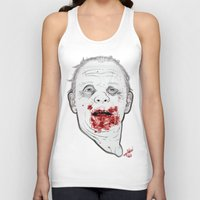 silence of the lambs Tank Tops featuring Ready when you are, Sergeant Pembry. // Silence of the Lambs by boy Roland