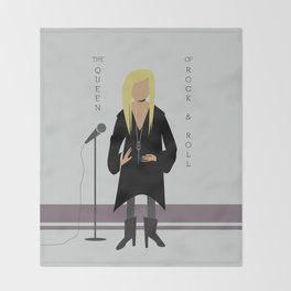 Stevie Nicks Throw Blanket