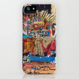 My vision became blurred iPhone Case