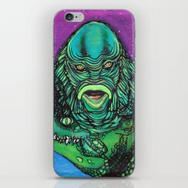 The Creature Lives iPhone Skin