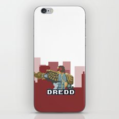 Gaze Into the Face of Dredd iPhone & iPod Skin