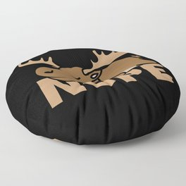Moose Floor Pillow