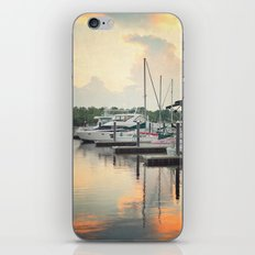 Little Pink Sailboat iPhone & iPod Skin