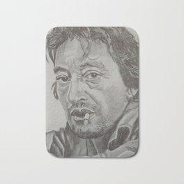 Serge Gainsbourg Bath Mat