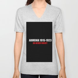 Commemoration Armenia 1915 Unisex V-Neck