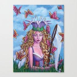 Spring Attraction Canvas Print