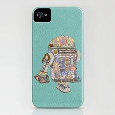 R2D2 Crashed Into A Flower Shop Slim Case iPhone (4, 4s)