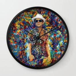mars abstract Wall Clock