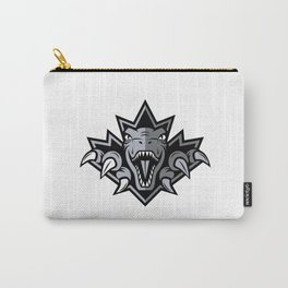 Dino Silver Leaf Carry-All Pouch
