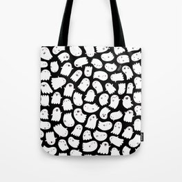 Spooky Kawaii Ghosts Tote Bag