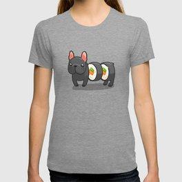 French bulldog maki sushi T-shirt