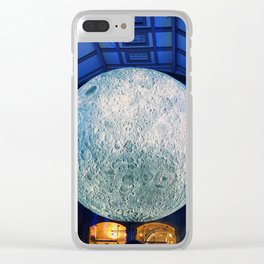The Blow Up Moon Clear iPhone Case