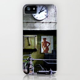 Men's World ...  Workplace iPhone Case