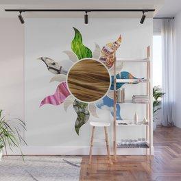Tangled Flower Wall Mural