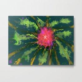 Flower AG 1 Metal Print