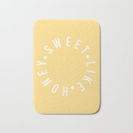 sweet like honey Bath Mat