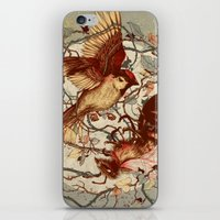 brain iPhone & iPod Skins featuring Honey & Sorrow (grey) by Teagan White