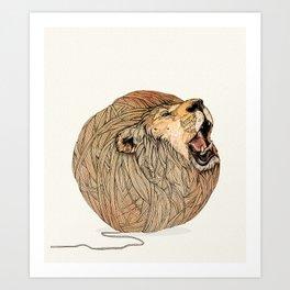 Unravel Me Art Print