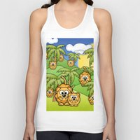 lions Tank Tops featuring Little Lions. by Digi Treats 2