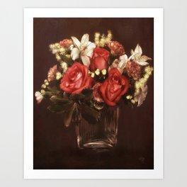 Old World Bouquet Art Print