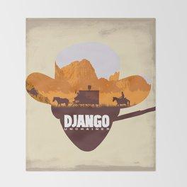 Django Unchained Throw Blanket