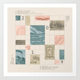 Decaded: 2019 Art Print