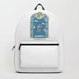 Art Nouveau Tardis Backpack