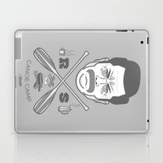 Ron Swanson Canoe Camp (clean gray variant) Laptop & iPad Skin