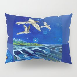 Long-Tailed Cuckoo & The Explorers Pillow Sham