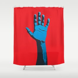 IMpacto #01 Shower Curtain