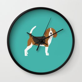 Beagle cute dog gifts pure breed must haves beagles Wall Clock