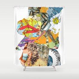 CutOuts - 4 Shower Curtain