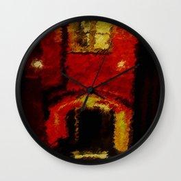 Ancient Street Wall Clock
