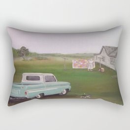 Back Home Rectangular Pillow