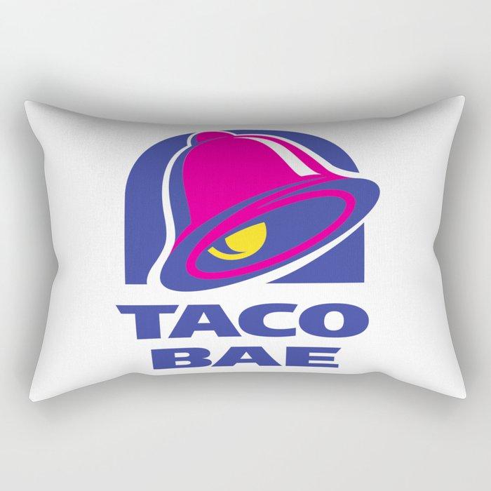 Taco Bae Rectangular Pillow