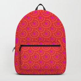Tropical Parasols Pattern Backpack