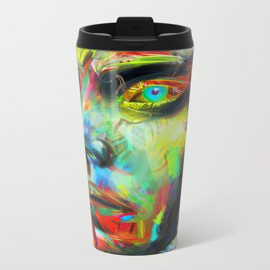 Rainscape Rhythm Metal Travel Mug